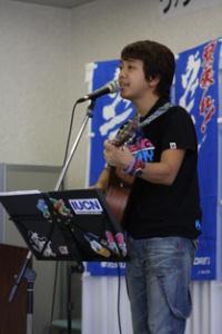 2009夏の交流会 神部冬馬ミニライブ